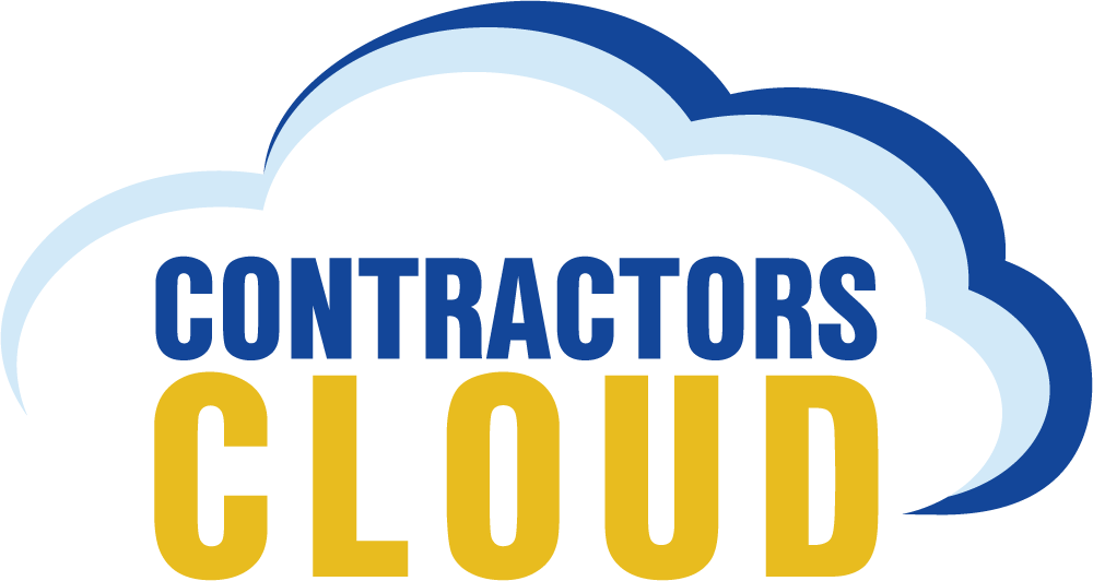 Contractors Cloud Logo Light