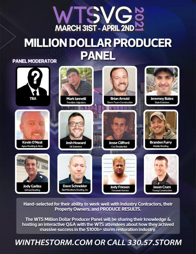 million dollar producer