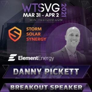 danny pickett wts speaker card