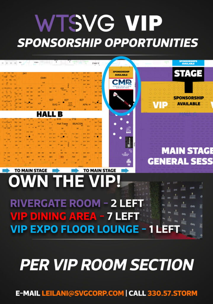 wts vip sponsor package expo